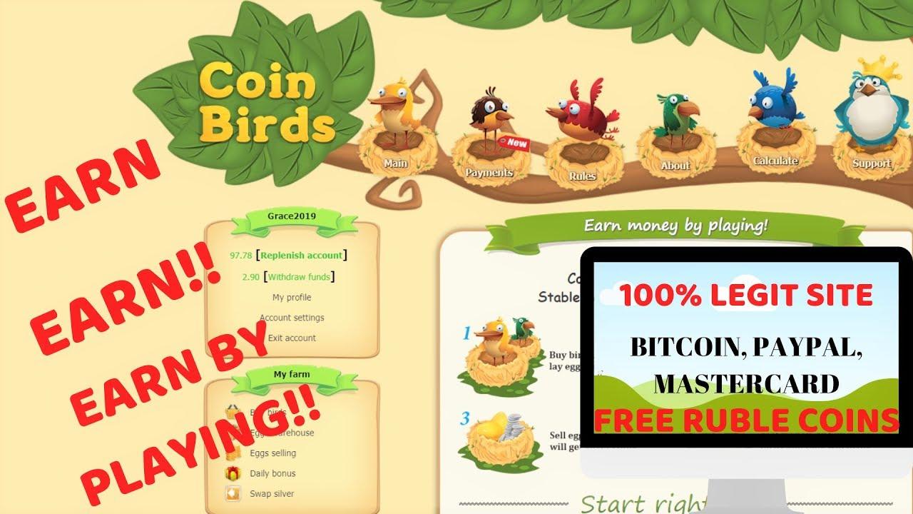 Coins Birds
